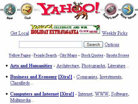Yahoo in 1996