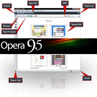 Opera 9.5