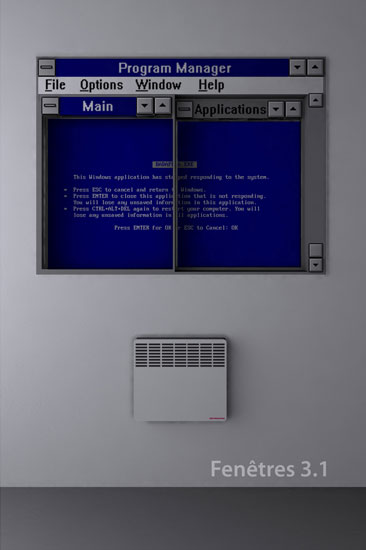 Windows 3.1 window