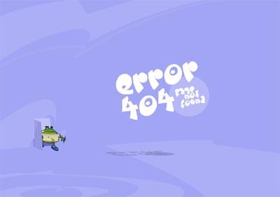 Nice 404 Page