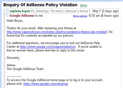 100% Compliant with AdSense TOS