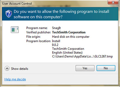 Windows 7 User Account Control