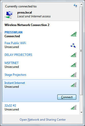 Windows 7 WiFi