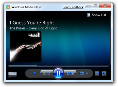 Windows 7 Windows Media Player
